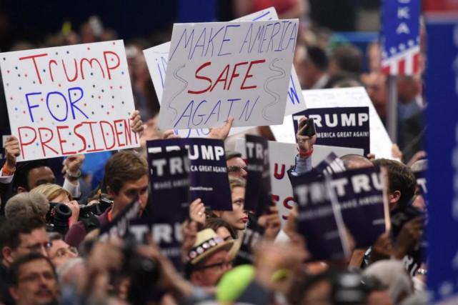 «Les militants les plus conservateurs ont l'impression d'avoir... (PHOTO TIMOTHY A. CLARY, AGENCE FRANCE-PRESSE)