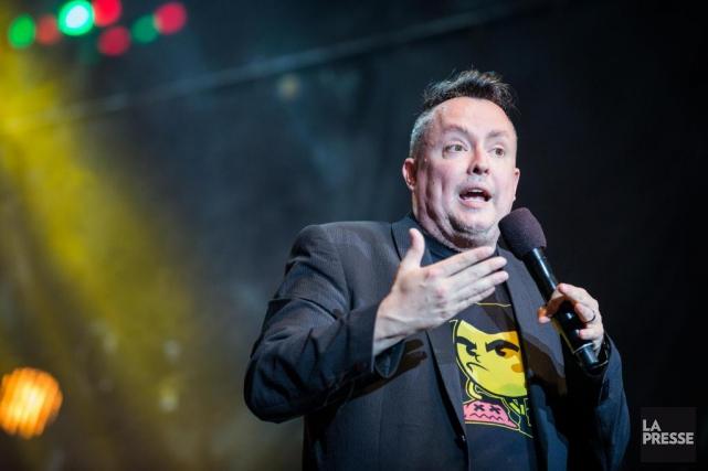 Mike Ward, humoriste décapant s'il en est un,... (Archives La Presse, Édouard Plante-Fréchette)