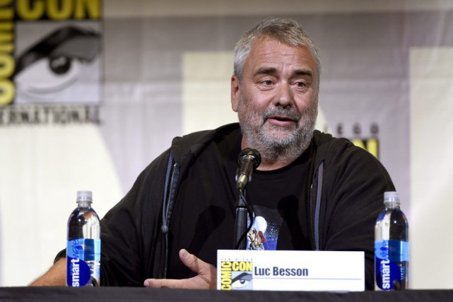 Luc Besson au Comic-Con de San Diego.... (PHOTO AP)