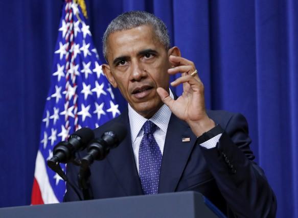 «Cette idée selon laquelle l'Amérique serait au bord... (AP)