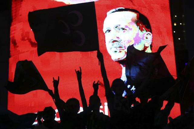 Le président turc Recep Tayyip Erdogan a annoncé samedi vouloir contrôler... (AFP, Adem Altan)