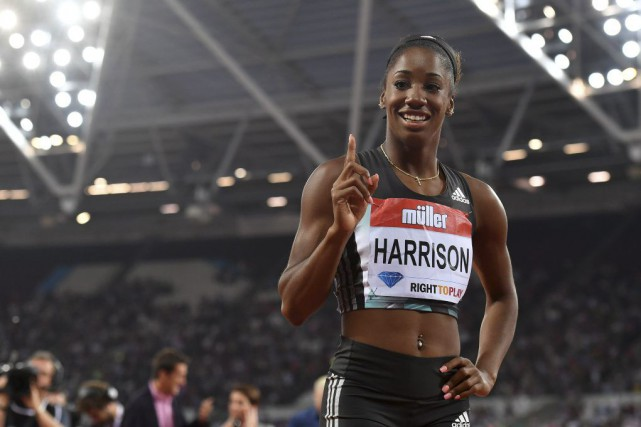 Kendra Harrison... (Photo AFP)