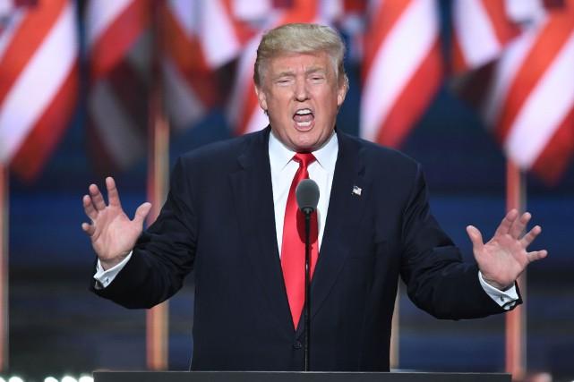 Donald Trump a tous les traits du leader... (Archives AFP)
