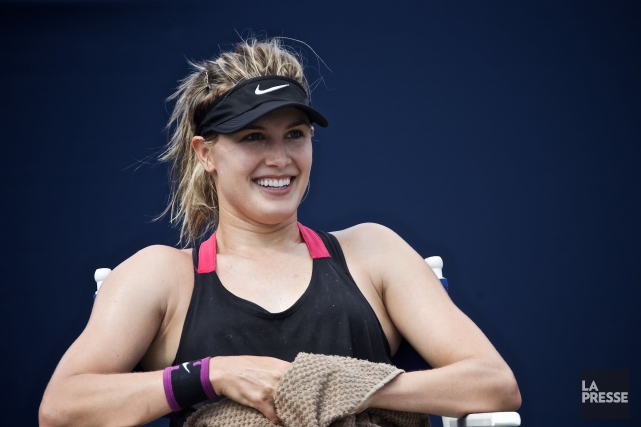 Eugenie Bouchard... (Photo André Pichette, La Presse)