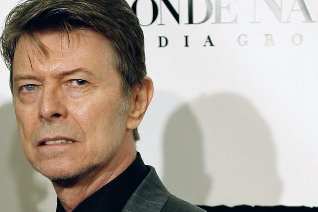David Bowie en octobre 2007... (Archives AP)