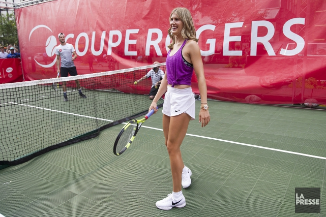 Eugenie Bouchard aura fort à faire au premier... (THE CANADIAN PRESS)