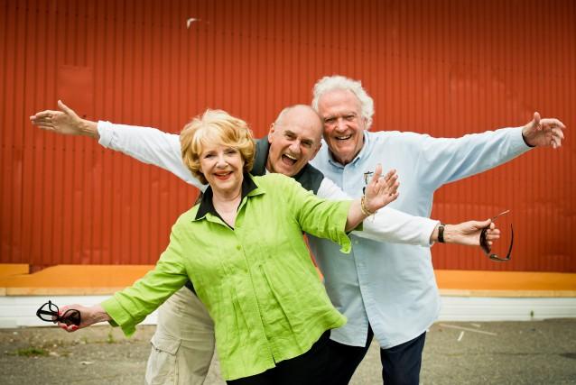 Le trio de puissance desTannants, Shirley Théroux, Joël... (Spectre Média, Jessica Garneau)