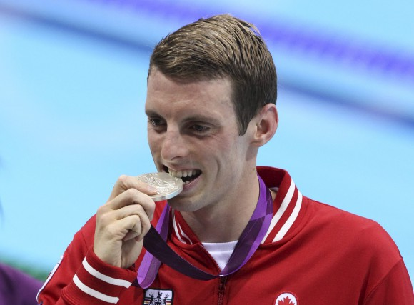 Le nageur canadien, Ryan Cochrane, avait remporté une... (Archives, La Presse Canadienne)