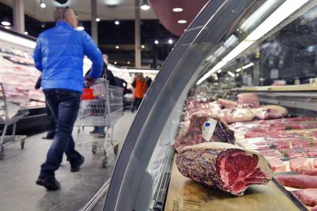 L'inflation annuelle au Canada est restée stable le mois dernier, à 1,5 pour... (Le Soleil)