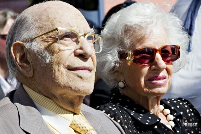 Renata Hornstein et son mari ont également effectué... (Archives La Presse)