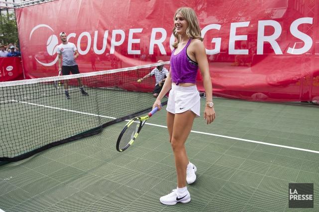 Eugenie Bouchard aura fort à faire au premier... (THE CANADIAN PRESS)