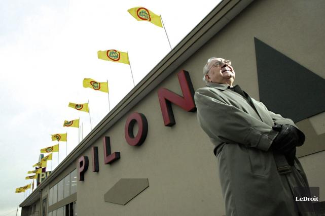 Le grand patron de Pilon Ltée, Roland Lavoie,... (Archives LeDroit)