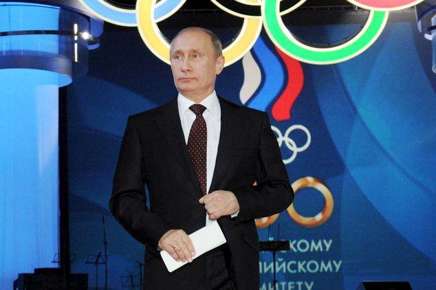 Alors que son pays risque l'exclusion des Jeux... (AP)