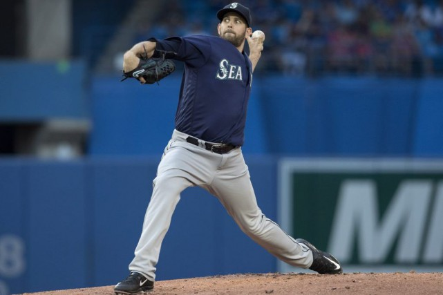Le lanceur des Mariners, James Paxton, n'a commis... (Fred Thornhill, PC)