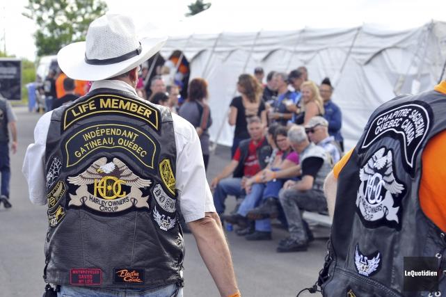 Texte: Le 20e rallye H.O.G prend fin samedi,... (Photo Le Quotidien, Rocket Lavoie)