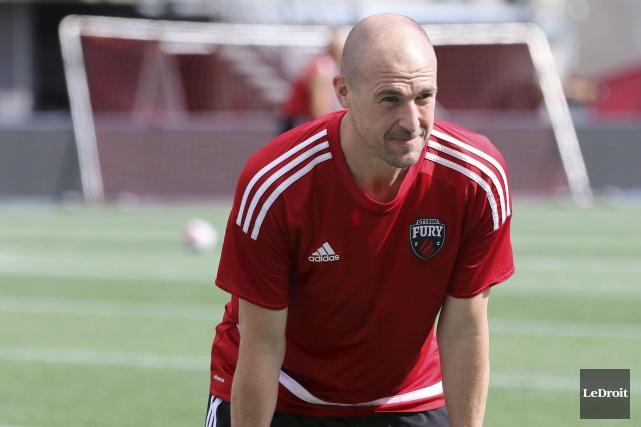 L'entraîneur-chef Paul Dalglishest convaincu que son équipe a... (Patrick Woodbury, LeDroit)