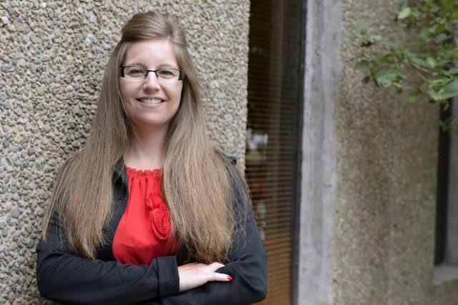 Après la parution de trois récits, Nancy Gagnon... (Photo Le Progrès-Dimanche, Jeannot Lévesque)