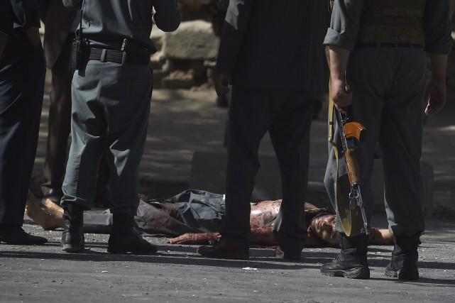 Un des trois assaillants de l'attaque a été... (AFP, Wakil Kohsar)
