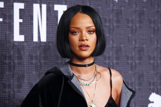 Rihanna (ci-contre en février 2016)jouera le rôle de... (Archives AP, Andy Kropa)