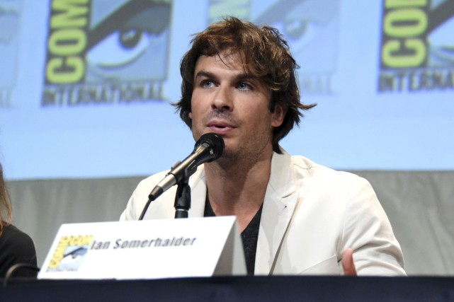L'acteur Ian Somerhalder était de passage au Comic-Con... (AP, Richard Shotwell)