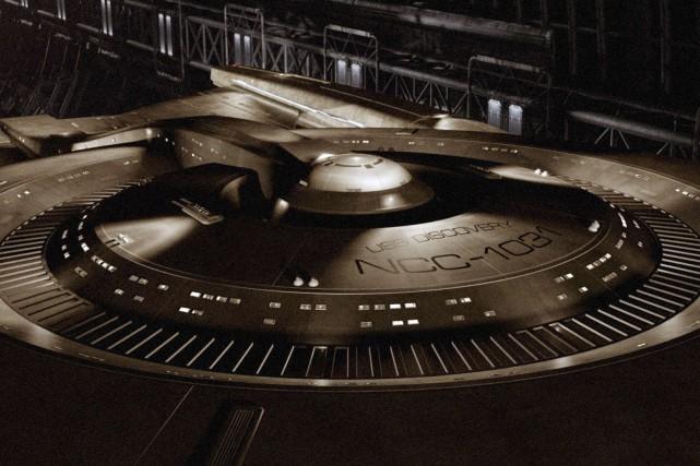 Le vaisseau USS Discovery, que l'on pourra voir... (Fournie par CBS)