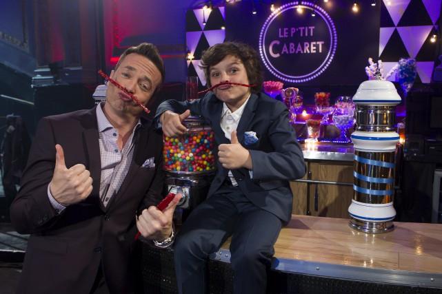 Iani Bédard anime Le P'tit cabaret avec Mario... (Photo fournie par TV5)