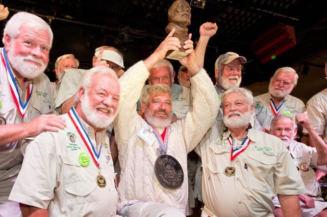 Dave Hemingway a été sacré vainqueur samedi. Il... (REUTERS)
