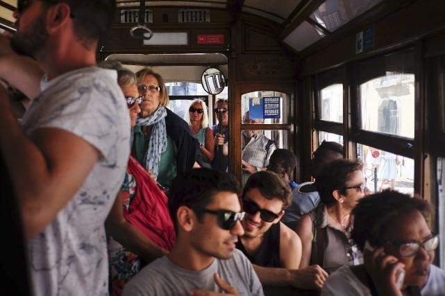 Lisbonne figure dans letop10 des destinations mondiales les... (AFP, Patricia de Melo Moreira)