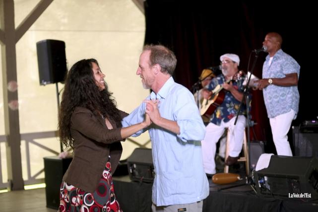 Pour clore le festival, Trabucci Habanero a entonné... (Julie Catudal, La Voix de l'Est)