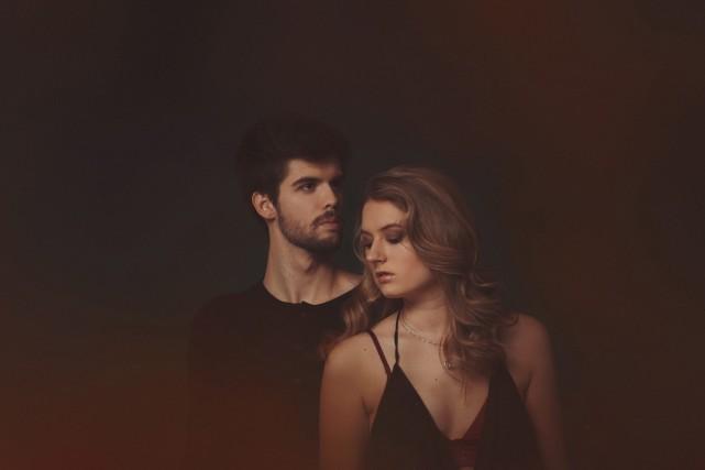 Les chanteurs Guillaume Lessard et Jayana Auger sont... (Photo courtoisie)