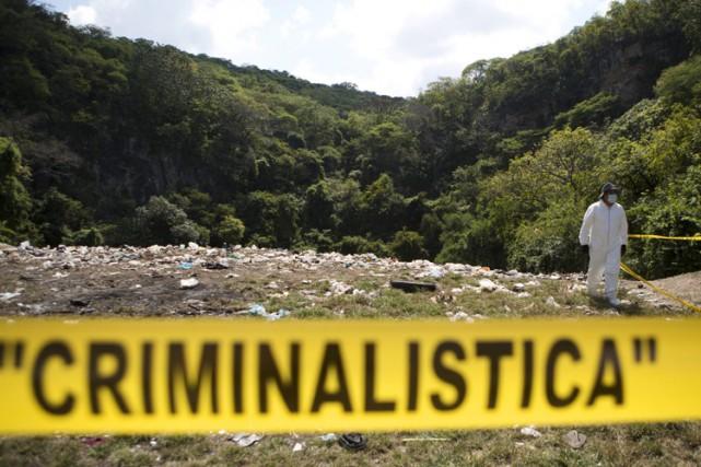 L'État de Guerrero a l'un des taux d'homicides... (ARCHIVES AP)