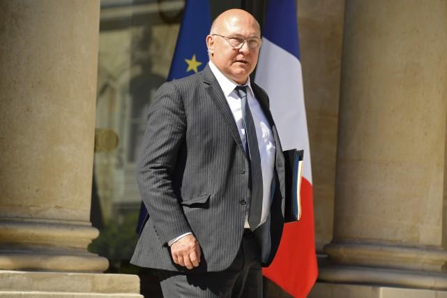 Le ministre français des Finances, Michel Sapin, a... (AFP, Bertrand Guay)