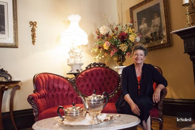 La propriétaire de l'hôtel Le Clos Saint-Louis, Ghislaine... (Le Soleil, Caroline Grégoire)