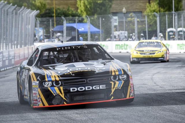 Andrew Ranger conserve la première place du classement... (Matthew Manor, NASCAR)