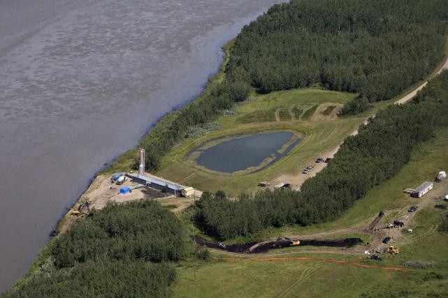 L'eau de la municipalité provient principalement de la... (La Presse Canadienne)