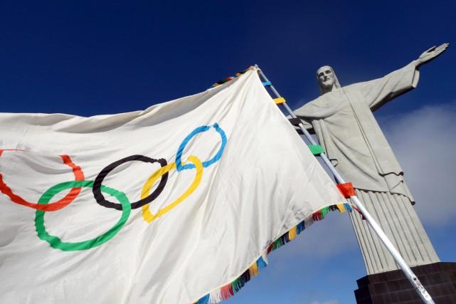À six jours de l'ouverture des JO de Rio (5-21 août), le Comité international... (Photo J.P ENGELBRECHT, archives AFP)