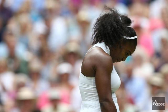 Blessée à une épaule, Serena Williams a annoncé... (PHOTO JUSTIN TALLIS, ARCHIVES AGENCE FRANCE-PRESSE)