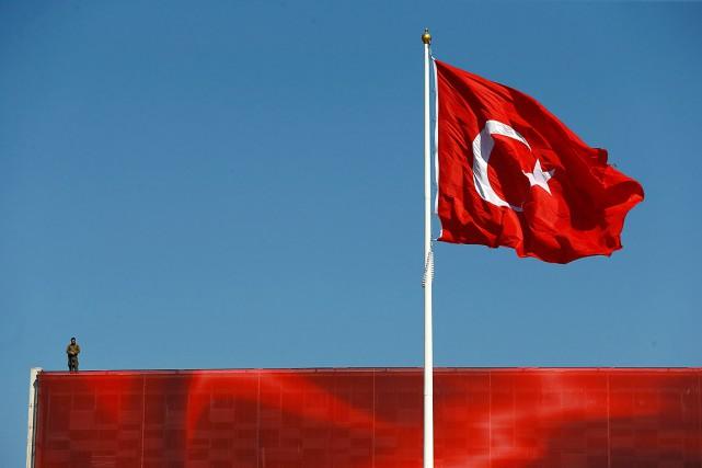 Un membre de la famille d'un binational turco-canadien arrêté en Turquie a... (Photo Osman Orsal, archives Reuters)