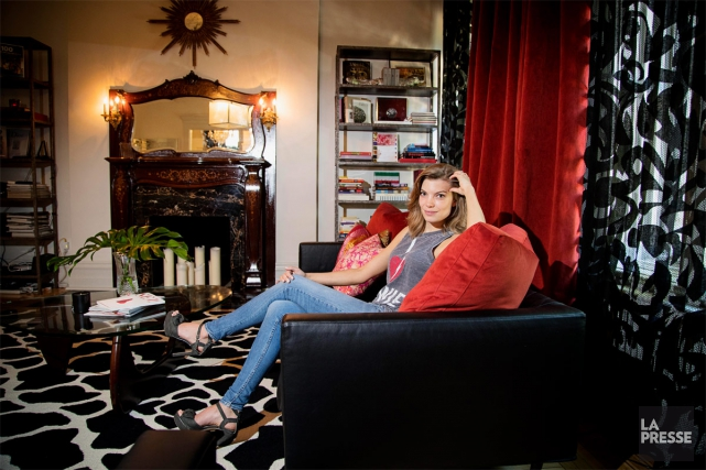 La créatrice et entrepreneure Ruby Brown a mis... (Photo Alain Roberge, La Presse)