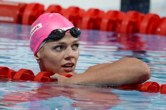 Sept nageurs russes sont exclus des JO de... (photo ALEXANDER NEMENOV, archives AFP)
