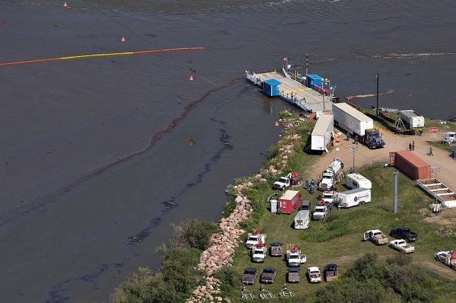 L'eau de la municipalité provient principalement de la... (Photo Jason Franson, La Presse Canadienne)