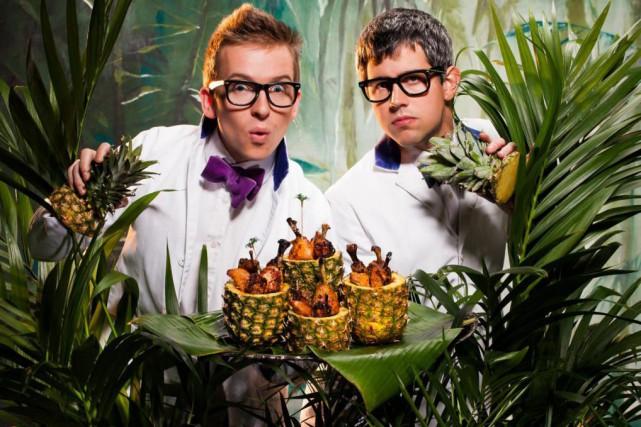 Le duo de «magiciens culinaires» Bompas&Parr sera de... (Photo fournie par Stella Artois)