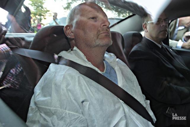 Richard Bain... (Photo Patrick Sanfaçon, archives La Presse)