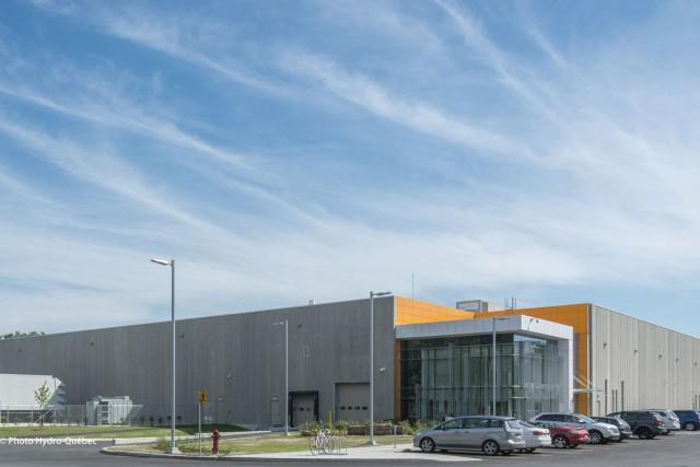 Hydro-Québec aménagera graduellement dans son nouveau centre de... (Photo fournie par Hydro-Québec)