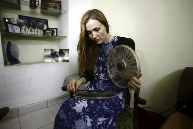 Selon la réalisatrice allemande Katharina von Schroeder, regarder... (AFP, Ashraf Shazly)