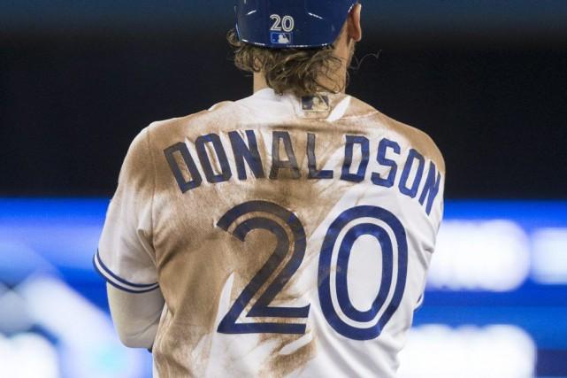 Josh Donaldson a atteint le cap des 70... (Chris Young, PC)