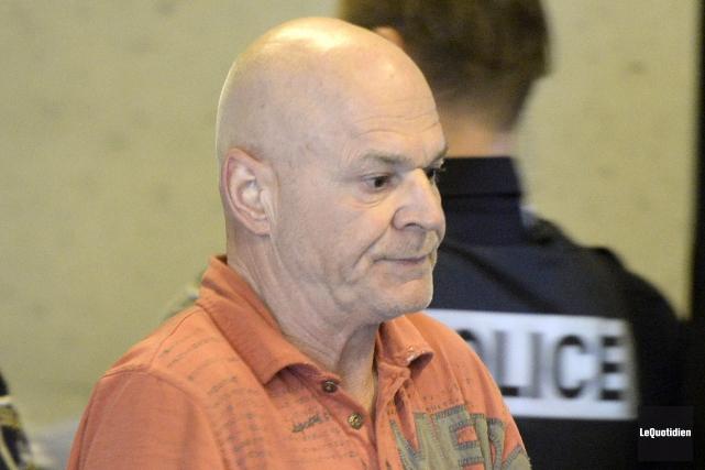 Claude Caouette faut face à une cinquième accusation... (Photo Le Quotidien, Jeannot Lévesque)
