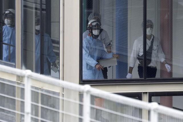 Le meurtrier présumé est un ancien employé du... (AFP, Jiji Press)
