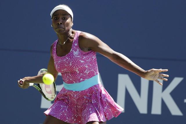 Venus Williams a gagné ses trois duels en... (AP, Marcio Jose Sanchez)