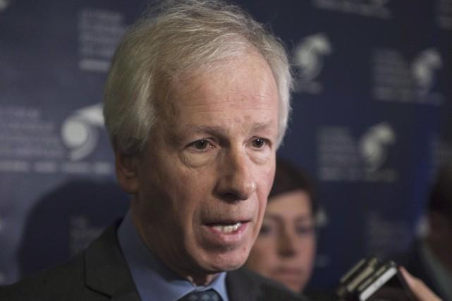 Le ministre des Affaires étrangères Stéphane Dion s'est... (La Presse Canadienne, Paul Chiasson)